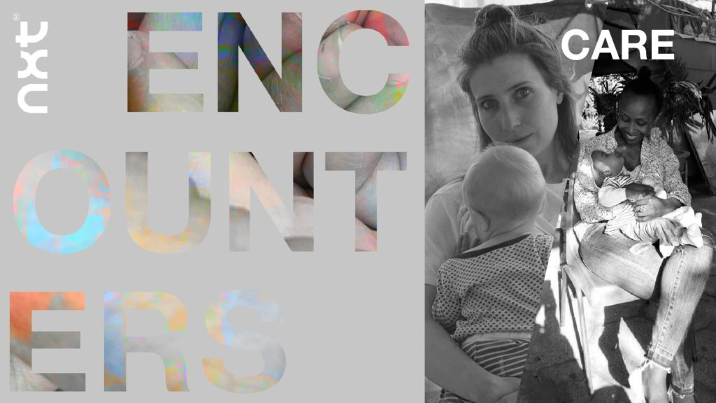 NXT Encounters #5 Caring from a distance with Inga Gerner Nielsen and Anne-Gisèle Nimbona