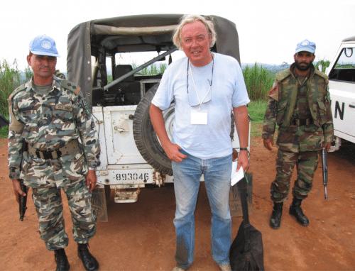Øjvind i krigszonen i Congo